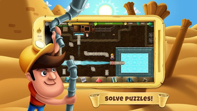 Diggy's Adventure APK screenshot thumbnail 1