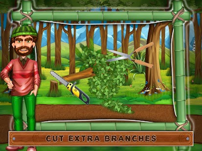 Town Tree House Building Game Screenshot Thumbnail