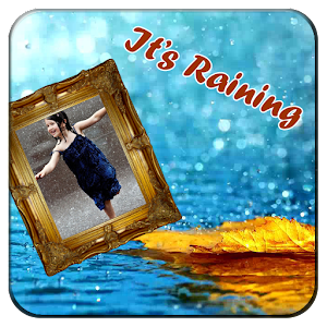 Rain Picture Photo Frame