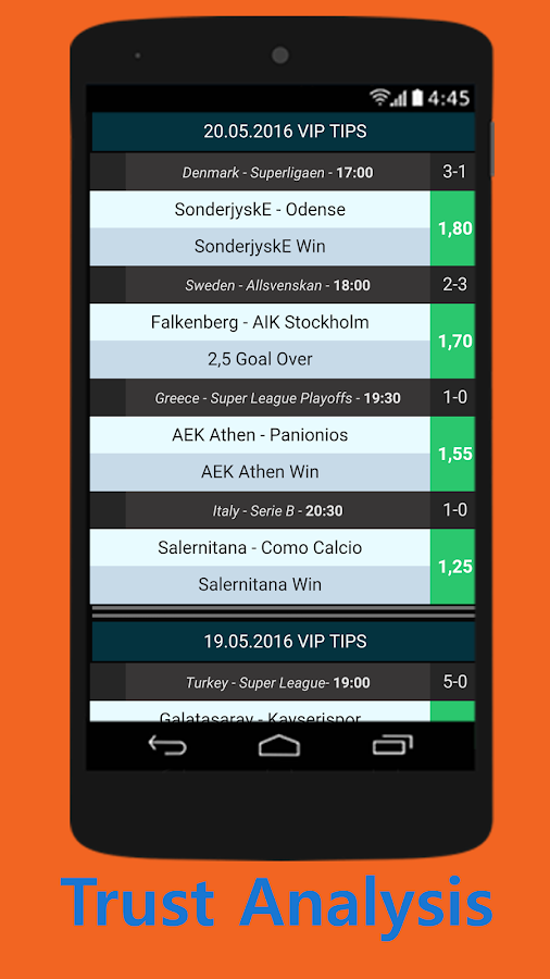 VIP Super: Betting Tips Screenshot 3