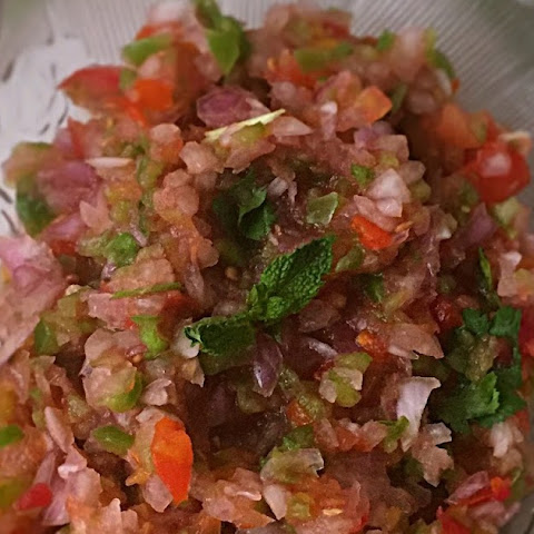 Pico de Gallo | Mexican Salsa Fresca | How to make Salsa at Home | Mexican Dip Recipe | Quick and Easy Recipe | Gluten Free and Vegan