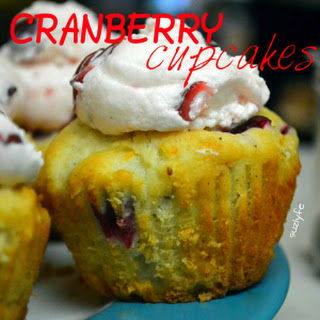 Dried Cranberries Cupcakes Recipes