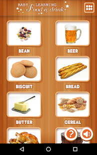 Baby learning Foods & Drinks - screenshot