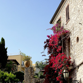 House in Taormina. by Peter DiMarco - Buildings & Architecture Homes ( street, neighborhood, house, balcony, city )