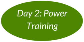 Day 2: Power Training