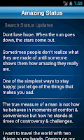 Screenshot of 50000 Status Quotes Collection
