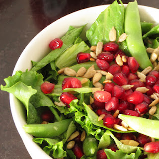 Pomegranate Sunflower Seeds Salad