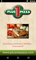 Screenshot of Plus One Pizza