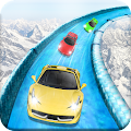 Frozen Water Slide Car Race APK for Kindle Fire