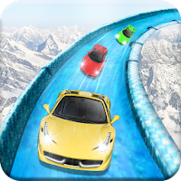 Frozen Water Slide Car Race For PC (Windows And Mac)