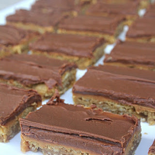 Lunch Lady Peanut Butter Bars
