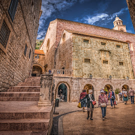 Dubrovnik, Croatia 007 by IP Maesstro - Buildings & Architecture Public & Historical ( ip maesstro, hdr, dubrovnik, croatia, historical, city )