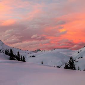 Oberlech Vorarlberg  by Michal Valenta - Landscapes Sunsets & Sunrises (  )