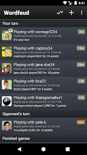 APK Game Wordfeud FREE for iOS