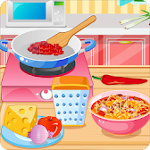 Lasagna Soup, Cooking Games APK icon