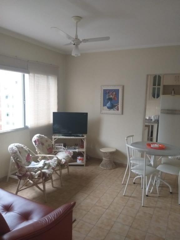 Apartamento com 1 dormitório à venda, 53 m² por R$ 175.000 - Centro - São Vicente/SP