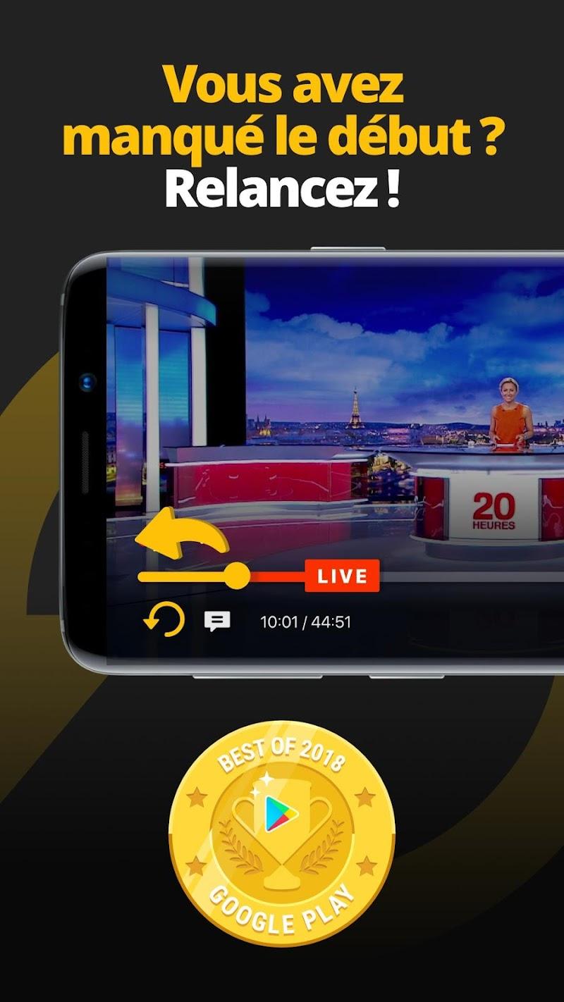 Molotov - TV en direct et en replay Screenshot 1