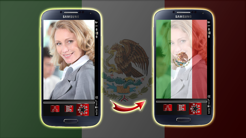 android Mexico Flag Profile Picture Screenshot 0