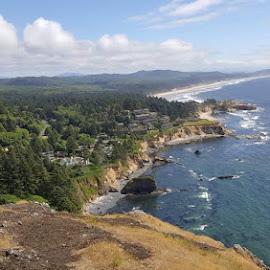 The Oregon Coast by Suzette Christianson - Landscapes Waterscapes