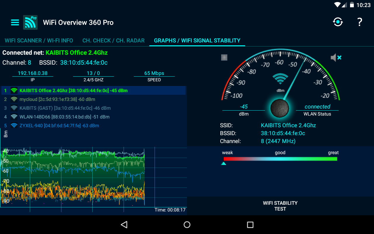 WiFi Overview 360 Pro Screenshot 13