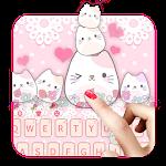Lovely Cute Kitty Keyboard Icon