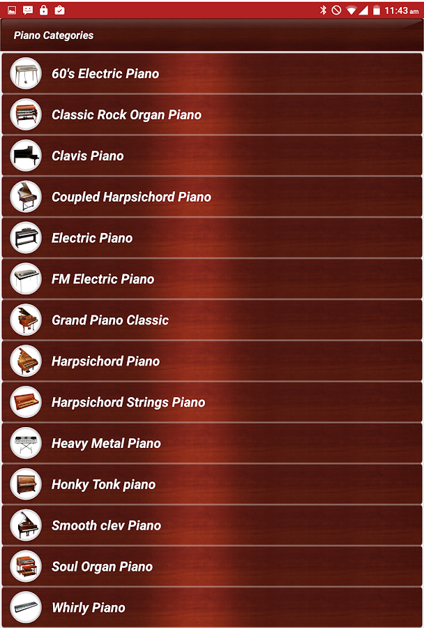 Piano Keyboard Music Pro Screenshot 2