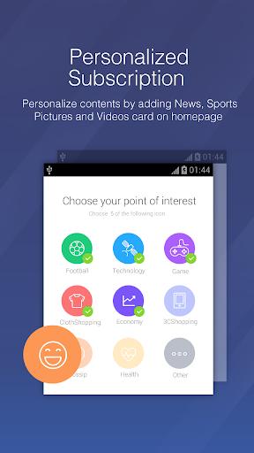 DU Browser—Browse fast & fun screenshot 6