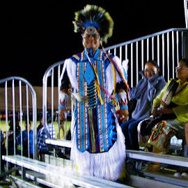 Native American traditional regalia.  by Edward Fritzius - People Fashion ( model, regalia, traditional, tribal, native american )