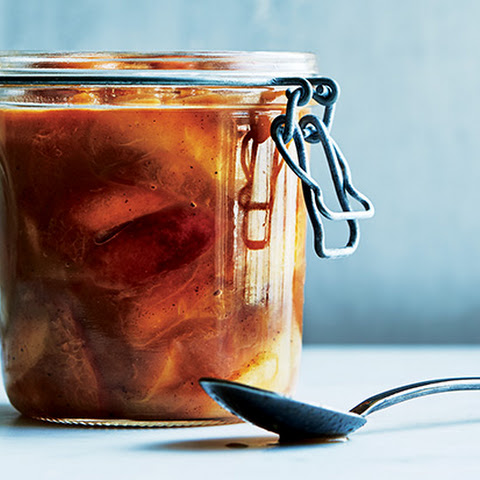 Apple and Peach Compote