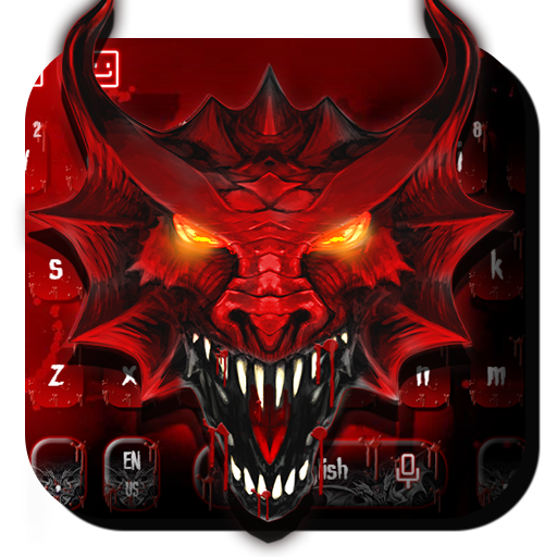 Red Dragon Keyboard Theme (app)