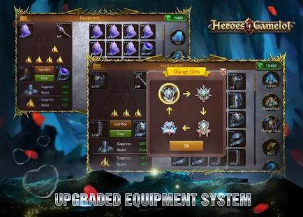 Heroes of Camelot apk screenshot