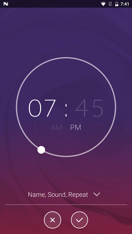 Next Alarm Clock Screenshot 3