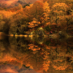Grasmere by Wolfy Pic - Landscapes Waterscapes