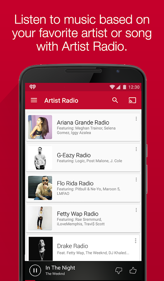 iHeartRadio Free Music & Radio Screenshot 2