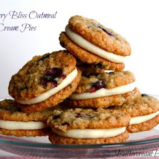 Blueberry Bliss Oatmeal Cream Pies