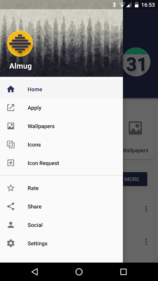 Almug - Icon Pack Screenshot 7