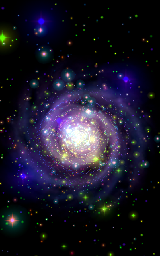 Galaxy Music Visualizer Pro Screenshot 4