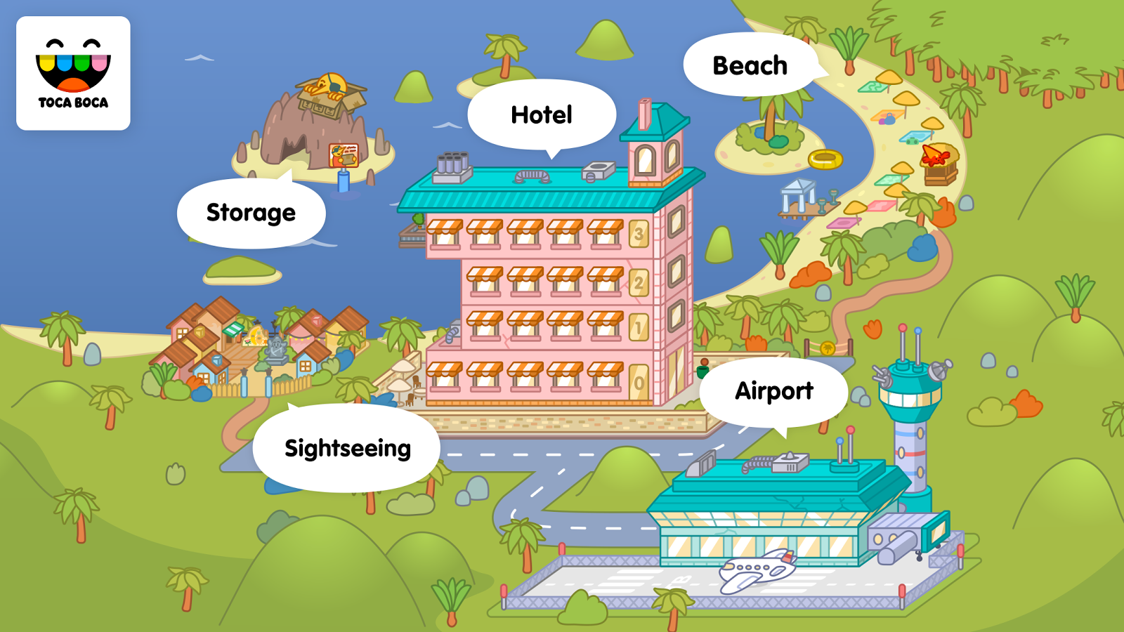 Toca Life: Vacation Screenshot 4