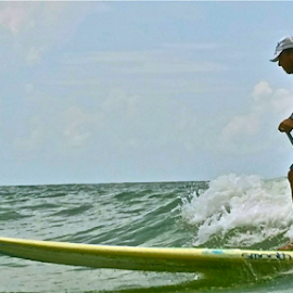 { Surfin Sunset Beach ~ 31 July }  by Jeffrey Lee - Sports & Fitness Surfing ( { surfin sunset beach ~ 31 july } )