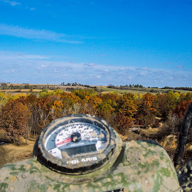 ATV / OHV park in Eddyville Iowa  by Gary Wahle - Transportation Other ( iowa, 4x4, fall colors, fall, atv, pov,  )