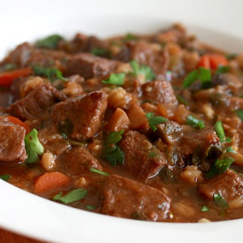 Hearty Beef and Barley Stew