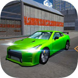 Extreme Sports Car Driving 3D Icon