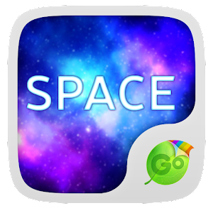 Space GO Keyboard Theme Emoji