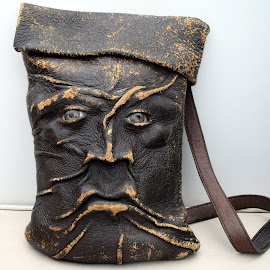 Old Man Purse by Dawn Mozgawa - Novices Only Objects & Still Life