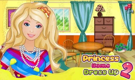 Princess Home Dress Up 2