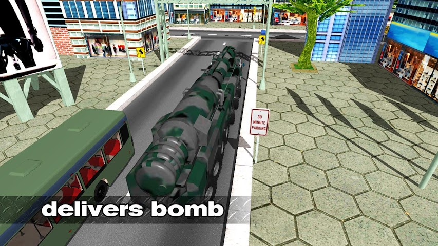 android Bomb Transport Russian Truck Screenshot 1