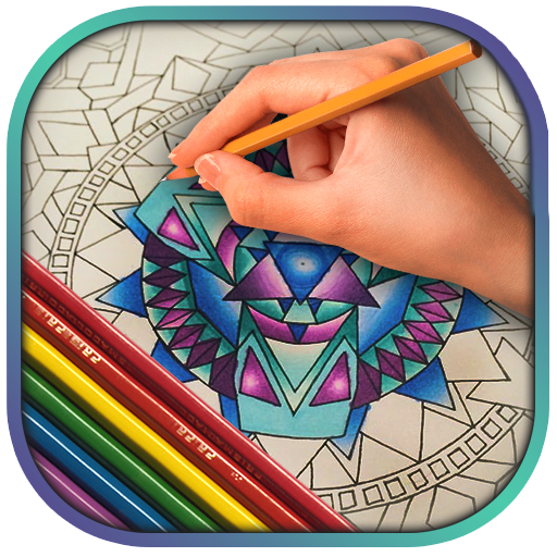 Stress Relief Coloring Pages (app)