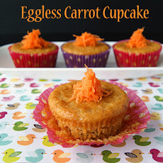Eggless Carrot Cupcake