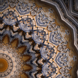 Architectural elements dubbed by Marvin Hurlston - Illustration Abstract & Patterns ( mystery, cathedrals, symbolism, architectural elements, ancient architecture )