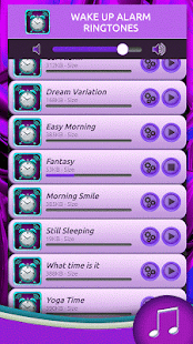 Wake Up Alarm Ringtones - screenshot
